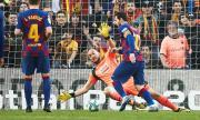Меси изригна с четири гола за успех на Барселона