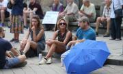 Ден 24: Протестиращите искат оставки, протест и пред дома на премиера