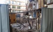 Ново срутване на къщата край строежа в Пловдив