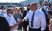Местна телевизия разобличи постановката за посещението на Борисов във Враца