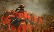 Мощен пожар бушува в Калифорния