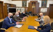 Гешев се срещна с ръководството на Камарата на строителите в България