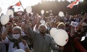 Майдан в Минск! Хиляди противници на Лукашенко протестират срещу президента на Беларус (СНИМКИ)