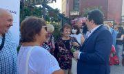 Асен Василев в Плевен: Аз пея за хората, не за политиците