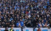 Феновете на Левски продължават с подвизите