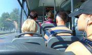 Безумие: Мъже се хапаха до кръв в градския транспорт