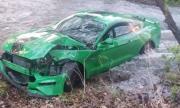 Неопитен шофьор и мощна кола със задно: Ето какво се случва три дни след покупката на чисто нов Mustang GT (ВИДЕО)
