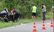 Шофьор на лек автомобил загина, преобръщайки се на пътя Добрич - Варна