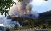 Дете запалило горския пожар край Девин