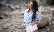 Мария подлуди със сексапил от Йонийско море (СНИМКИ)