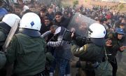 Силната охрана на границите на Гърция намалила мигрантския натиск