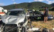 Жена загина, две деца са ранени при тежка катастрофа край Шипка
