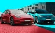 Tesla продава, но не печели. VW е по петите ѝ