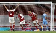Арсенал се измъкна срещу Уест Хям в края