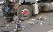 Шофьор на камион загина при катастрофа край Габрово