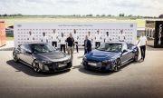 Футболисти на Байерн Мюнхен получиха ключовете за най-бързото ел. Audi