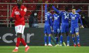 Млад белгиец от Лестър заби 4 гола на Спартак Москва в трилър със 7 попадения