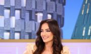 Ослепително красивата Ева приковава албанските фенове към екраните