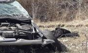Шофьор загина при тежка катастрофа в Търговищко