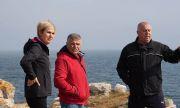Кандидатът за вицепрезидент Невяна Митева посети закъсалия