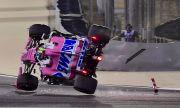 Нов инцидент в Бахрейн: Колата на Ланс Строл се преобърна с гумите нагоре