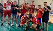 ЦСКА спечели Купата на България по бокс