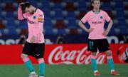Барселона се издъни срещу Леванте - титлата се изплъзва от ръцете на каталунците