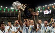 Анхел Ди Мария с култов татус на крака, с който донесе трофея на Аржентина на Копа Америка (ВИДЕО)