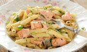 Рецепта за вечеря: Бърза паста със сьомга