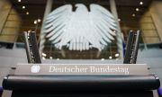 Първо заседание на новия германски парламент