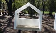 Пейки със слънчеви панели в столичен парк