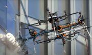 Латвийци показаха дрон, който почиства небостъргачи (ВИДЕО)