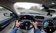 320 км/ч с BMW M760Li от първо лице (ВИДЕО)