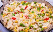 Рецепта на деня: Салата с кафяв ориз и пилешко