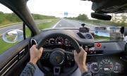 С 333 км/ч по аутобана зад волана на Porsche Cayenne Turbo (ВИДЕО)