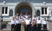 Мария Бакалова стана кръстницата на военен кораб