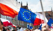 В цяла Полша имаше демонстрации в подкрепа на ЕС