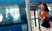 Порнозвезда се отдаде на разврат в автобус, но... (СНИМКИ)