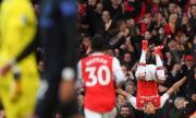 """Арсенал излъга Евертън на """"Емирейтс"""" в луд мач с 5 гола (ВИДЕО)"""