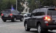 Автомобил на НСО е ударен в София