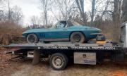 Намериха рядък Corvette под камара боклуци в стар гараж