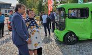 Везиева на представянето на първия БГ електрически лекотоварен автомобил: Бъдещето е в зелените технологии