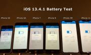 Демонстрация на автономност на 6 различни модела iPhone (ВИДЕО)