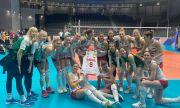 Волейболистките ни със специален подарък за Христо Стоичков