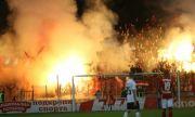 ЦСКА надъха феновете преди срещата с Осиек (ВИДЕО)