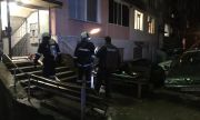 Пламна блок в София, има пострадал