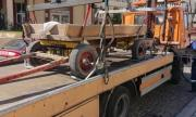 Паяк вдигна каруца в Пловдив, ето защо (СНИМКИ)