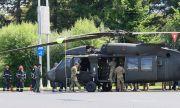 Американски военен хеликоптер кацна ненадейно в центъра на Букурещ