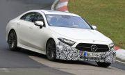 Mercedes тества нов CLS на Nurburgring