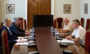 Президентът и началникът на отбраната обсъдиха състоянието на армията